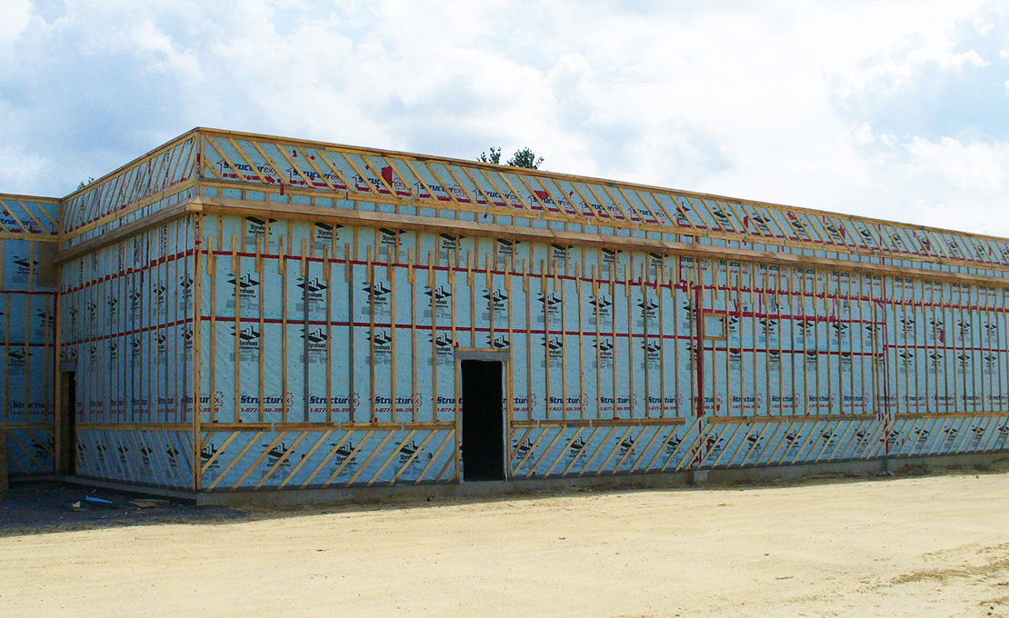 Prefabricated wall panels
