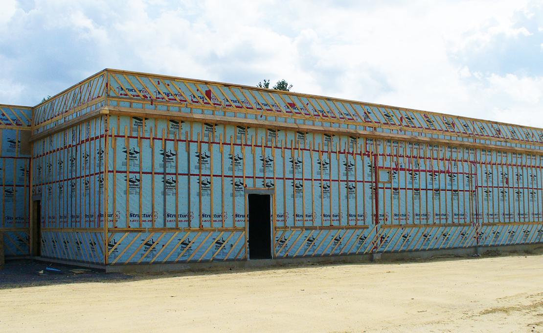 Murs préfabriqués